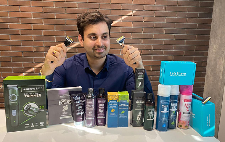 LetsShave.com raises Capital from Wipro