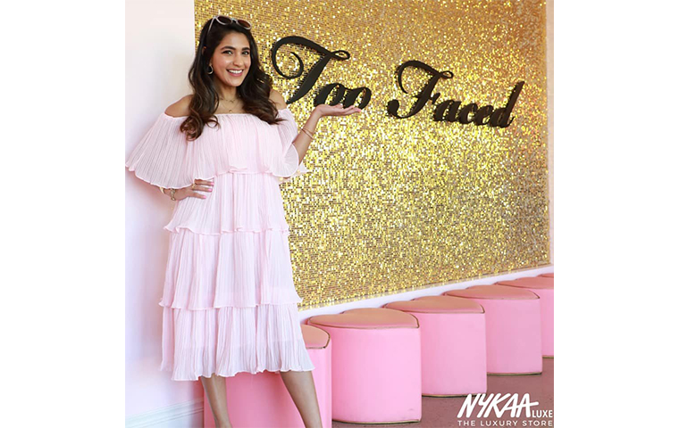 Nykaa introduces Too Faced cosmetics in India