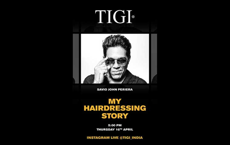 TIGI India & Savio John Pereira come together to share knowledge
