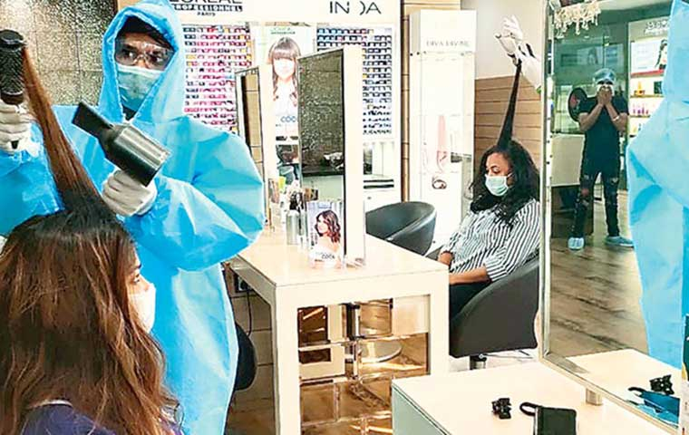 Gurgaon salons to provide PPE kits to staff