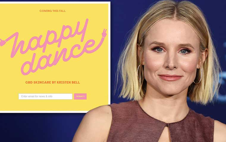 Kristen Bell & Lord Jones together launch Happy Dance
