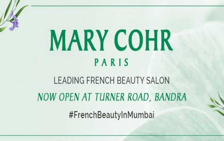 Mary Cohr inaugurates its first salon in India