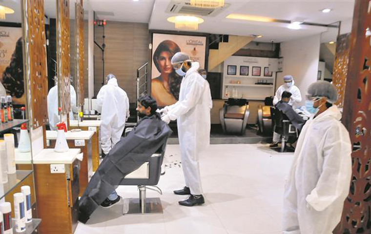 Himachal Pradesh presents SOPs for barbers