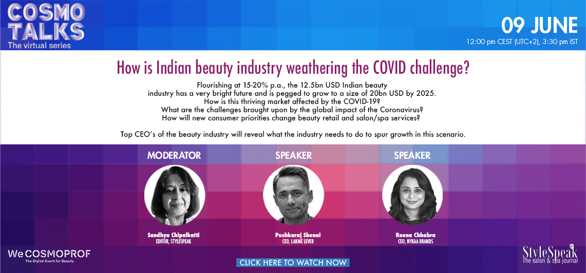 How is Indian Beauty industry weathering the COVID challenge?