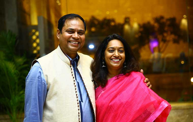Q&A with Veena & C.K.Kumaravel, Co-founders, Naturals Salons