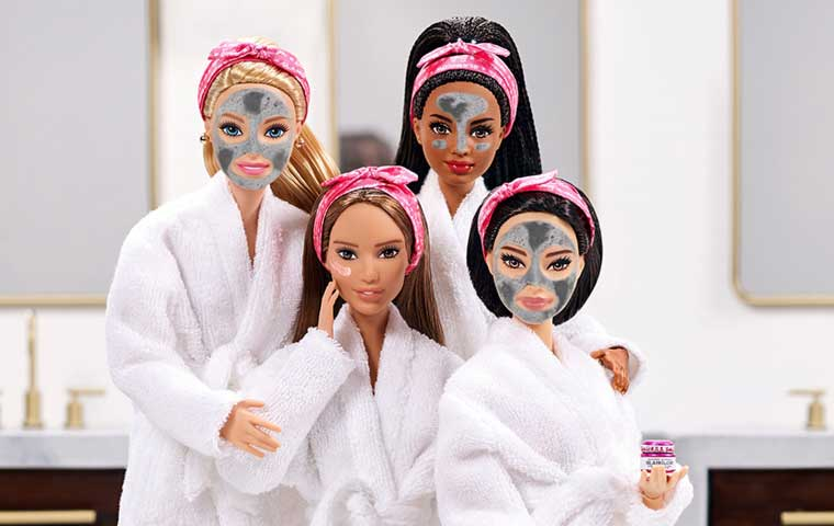 Barbie and GlamGlow team up to launch skincare products