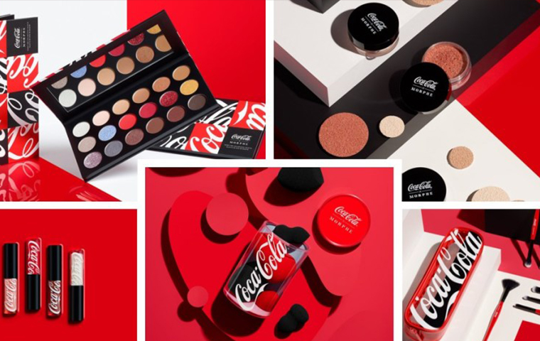 Morphe and Coca-Cola launch make-up collection