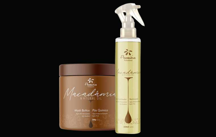 Reconstruct your hair with Floractive Professional