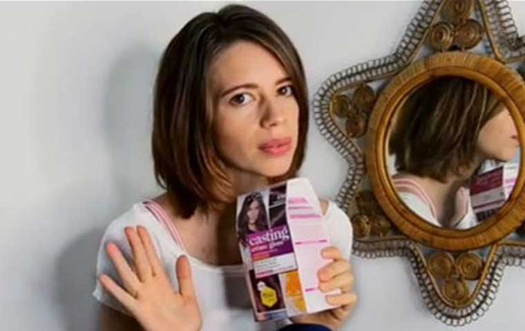 L'Oréal Paris & Kalki Koechlin come together for a DIY hair transformation