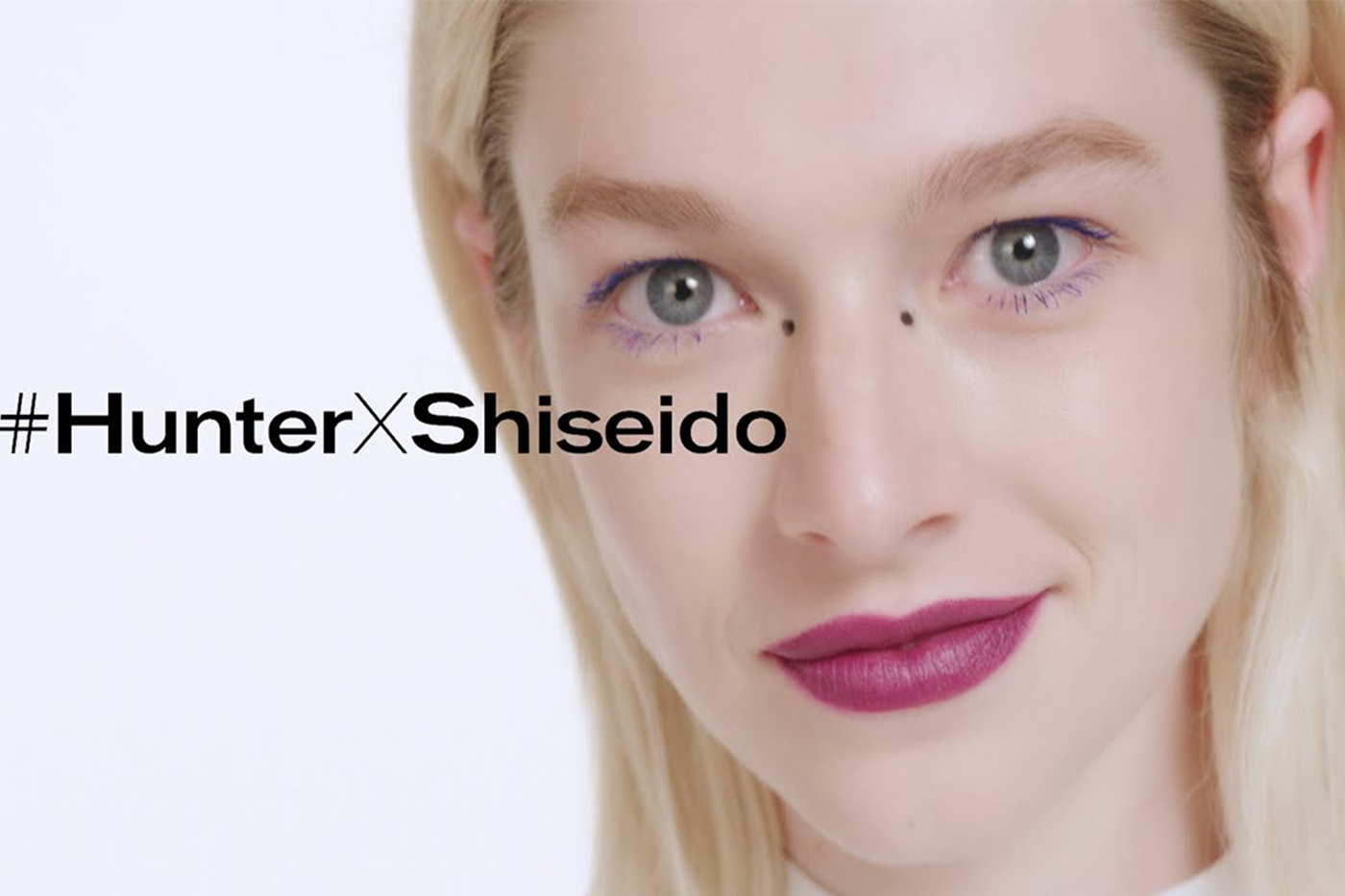 Hunter Schafer becomes global brand ambassador for Shiseido Makeup