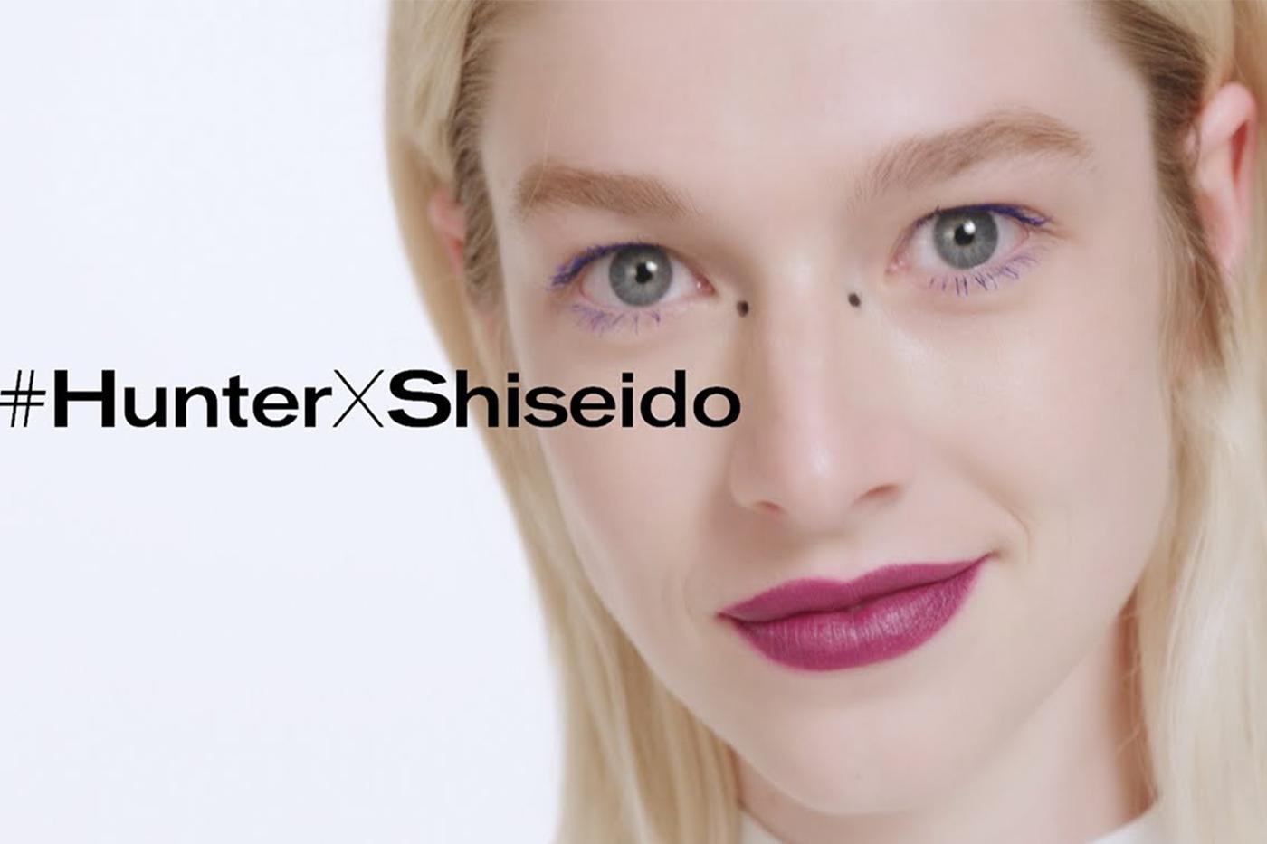 Hunter Schafer becomes global brand ambassador for Shiseido Makeup