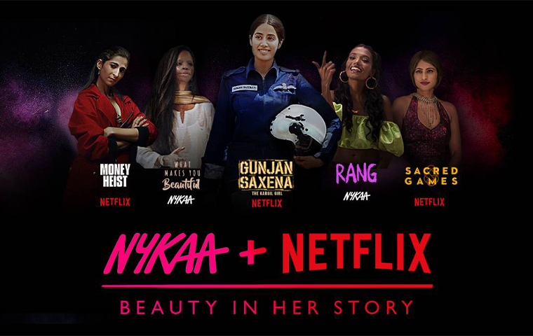 Nykaa & Netflix launch 'Beauty In Her Story' campaign