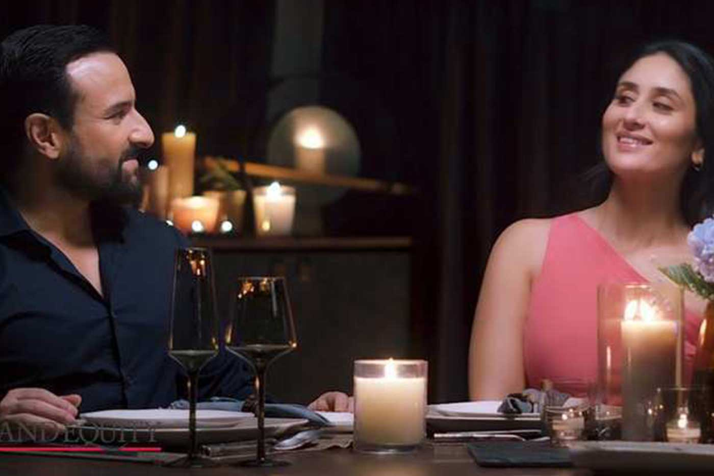 Power couple Kareena & Saif star in Lux's new campaign