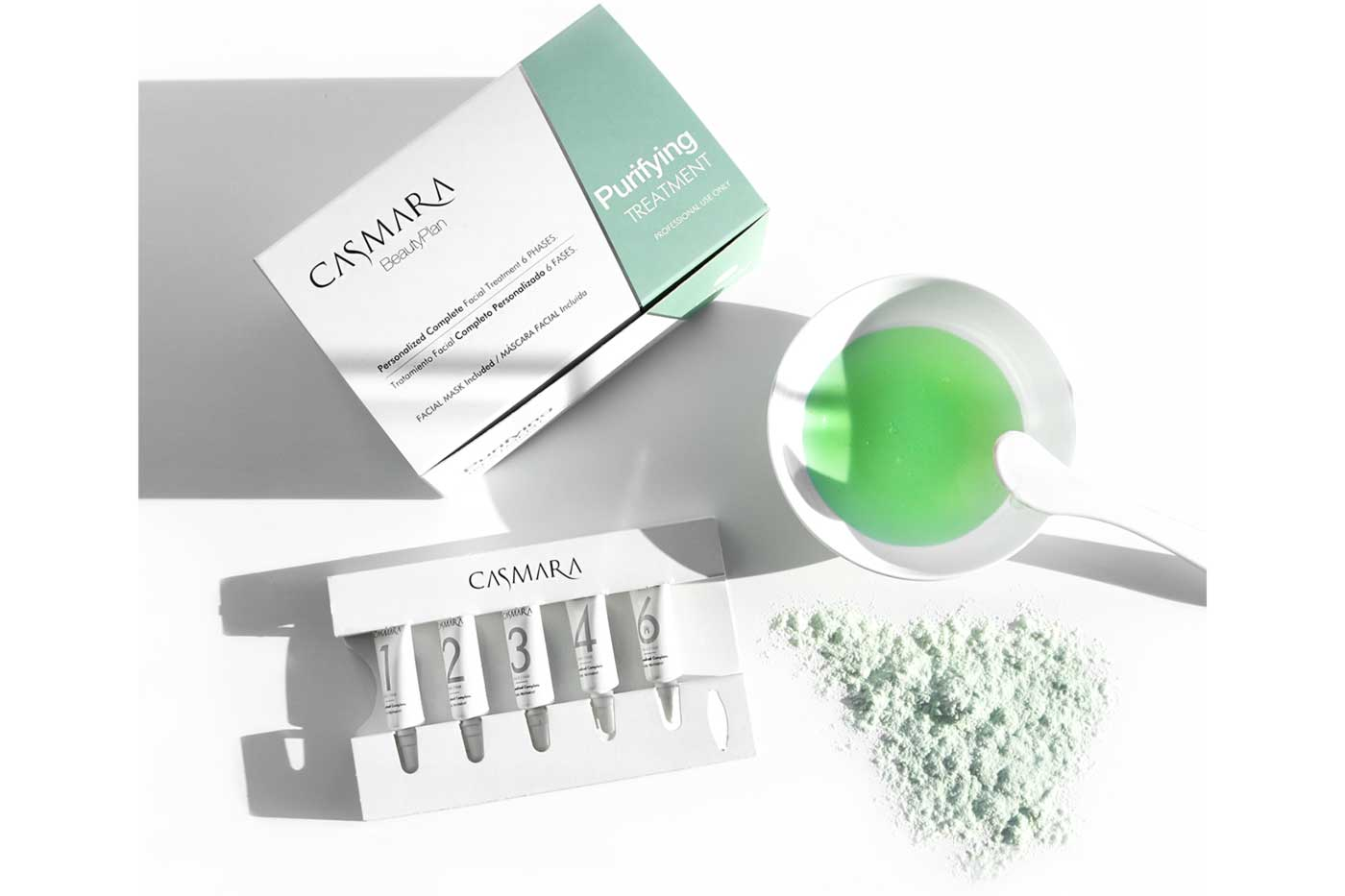 Skin rejuvenation with Casmara's facial treatment
