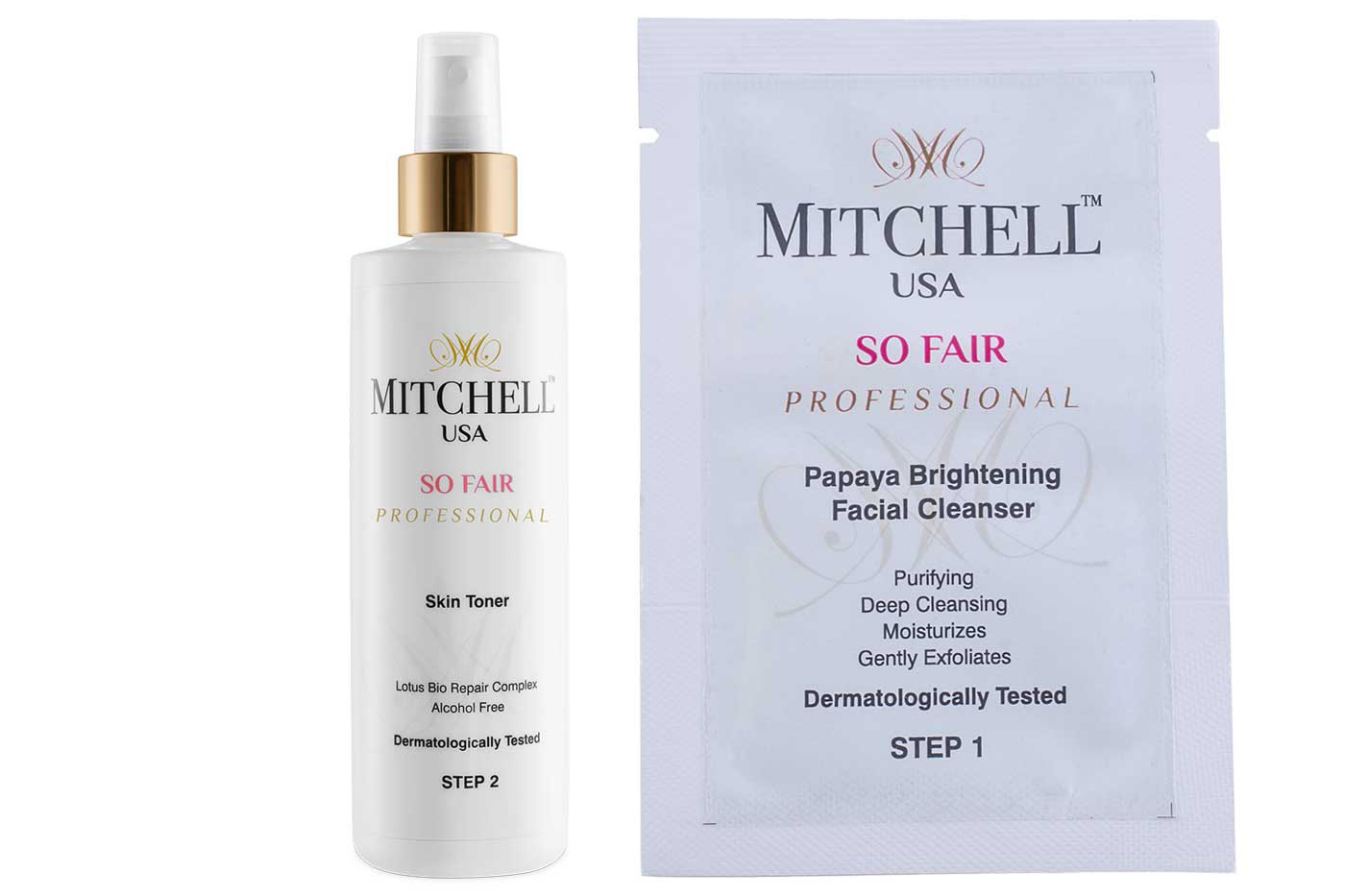 Mitchell USA Professional's effective skincare treatments for Indian women