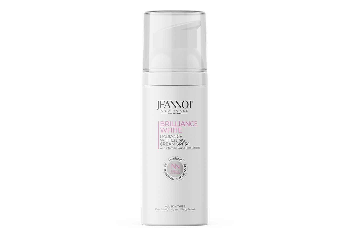 Jeannot Ceuticals offers cream for radiant skin