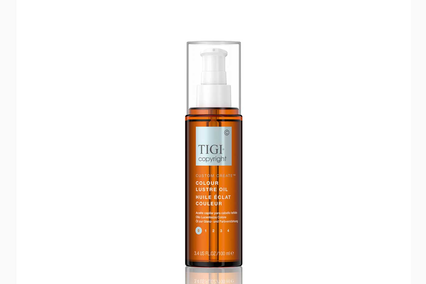Tame frizzy hair with TIGI Copyright