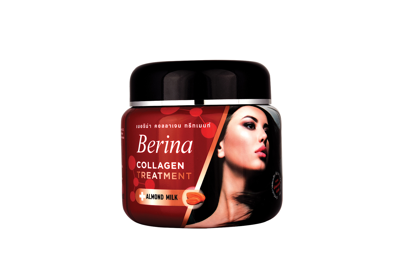 Berina offers collagen treatment for strong hair