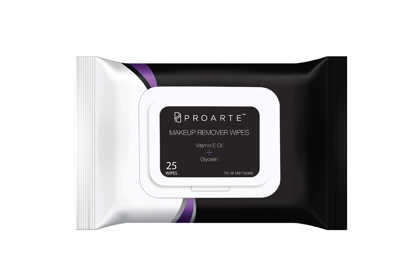 Proarte's bio-degradable makeup remover wipes