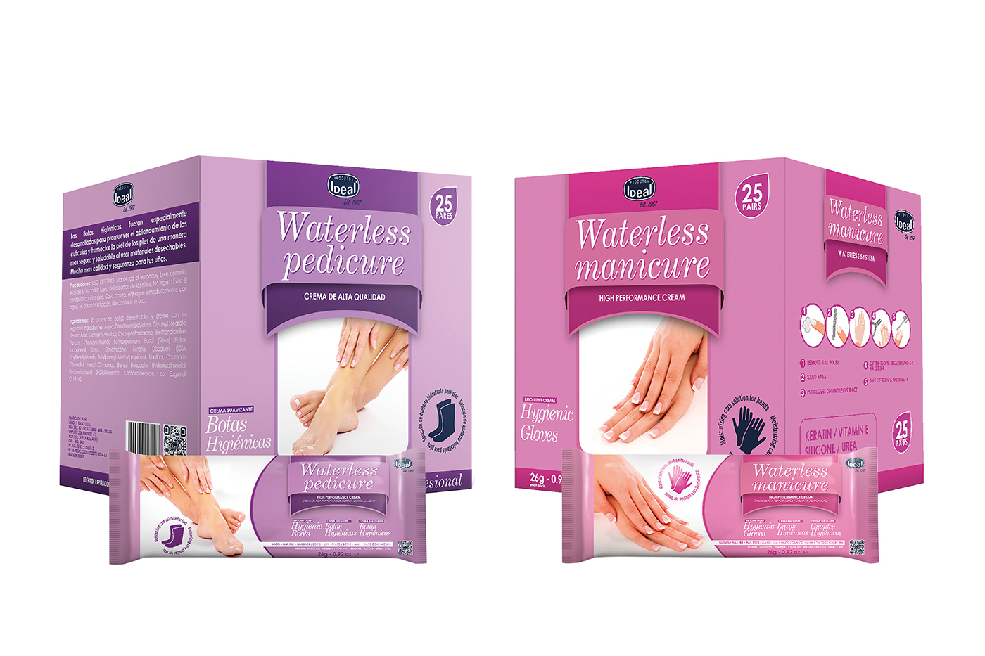 Ideal's Waterless Mani-Pedi Kit