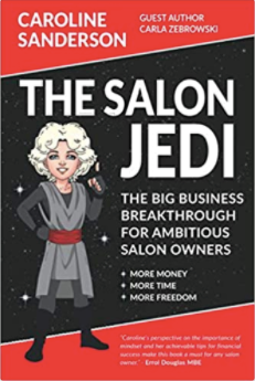 Caroline Sanderson's business book tops the Amazon bestsellers