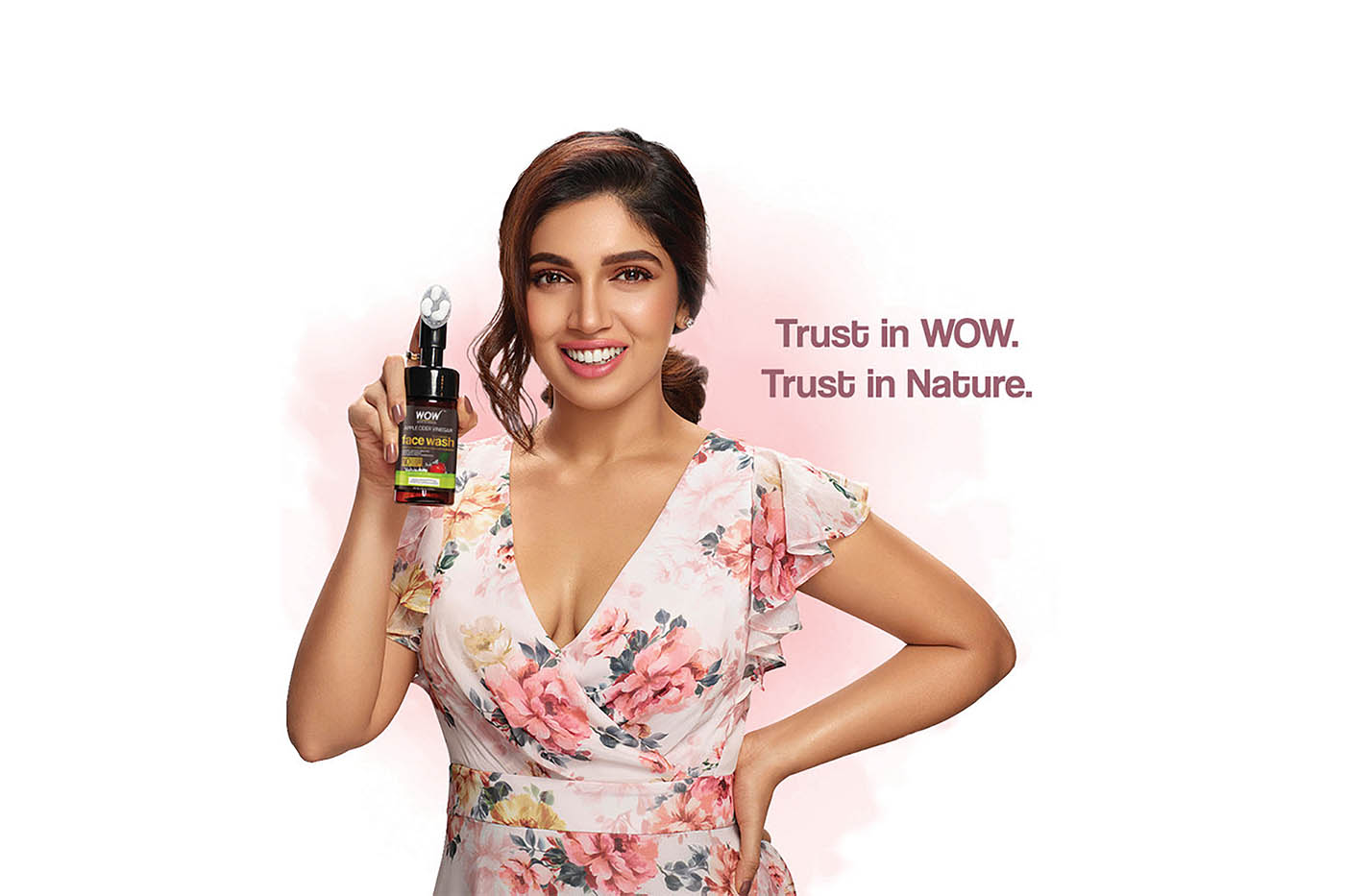 Bhumi Pednekar becomes brand ambassador for Wow Skincare