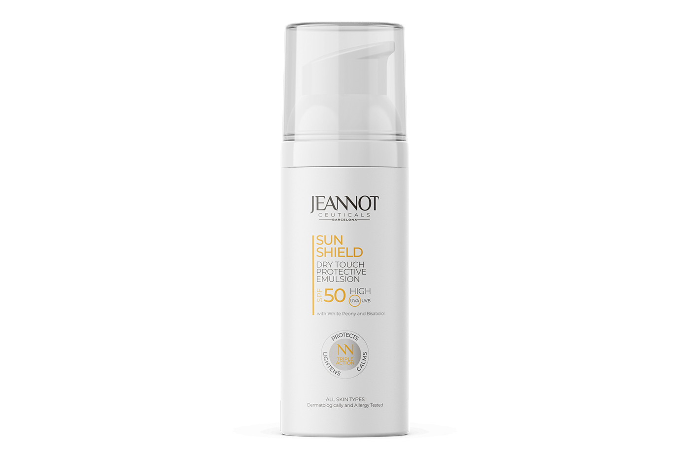 Jeannot Ceuticals provides sun-shield