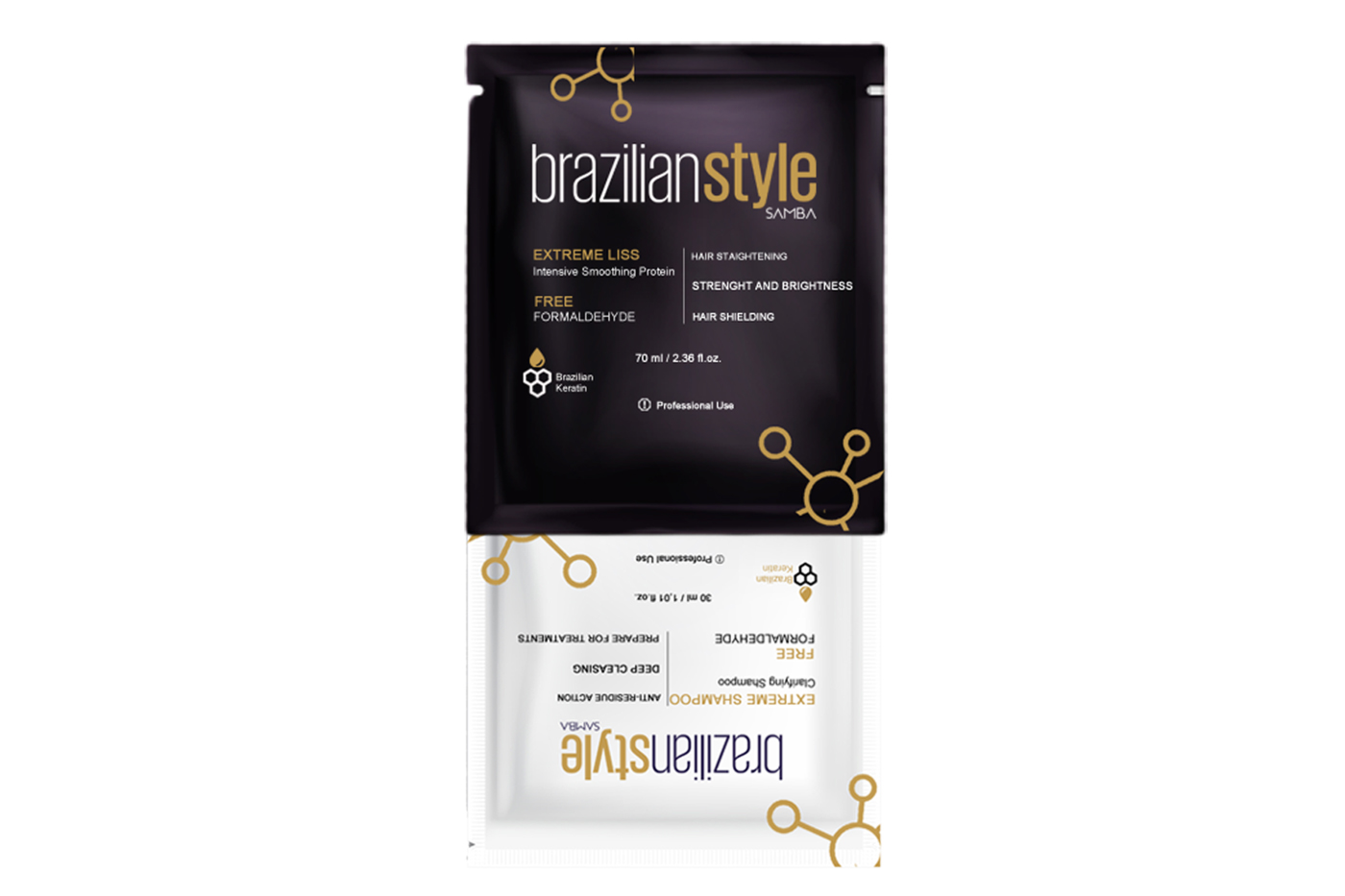 Brazilian Style Samba's products for keratin treatment