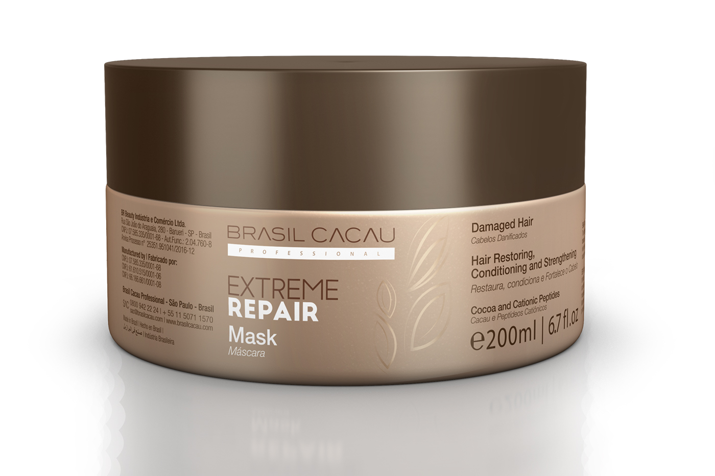 Hair damage repair with Cadiveu