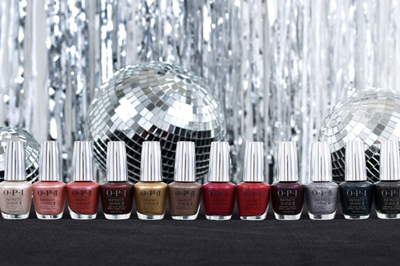 OPI's nail collection to spread shine this season