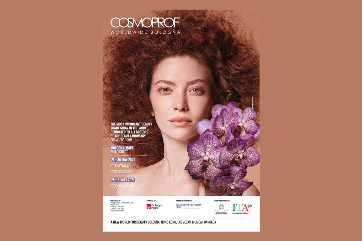 Cosmoprof Worldwide Bologna postponed to May 27-31, 2021