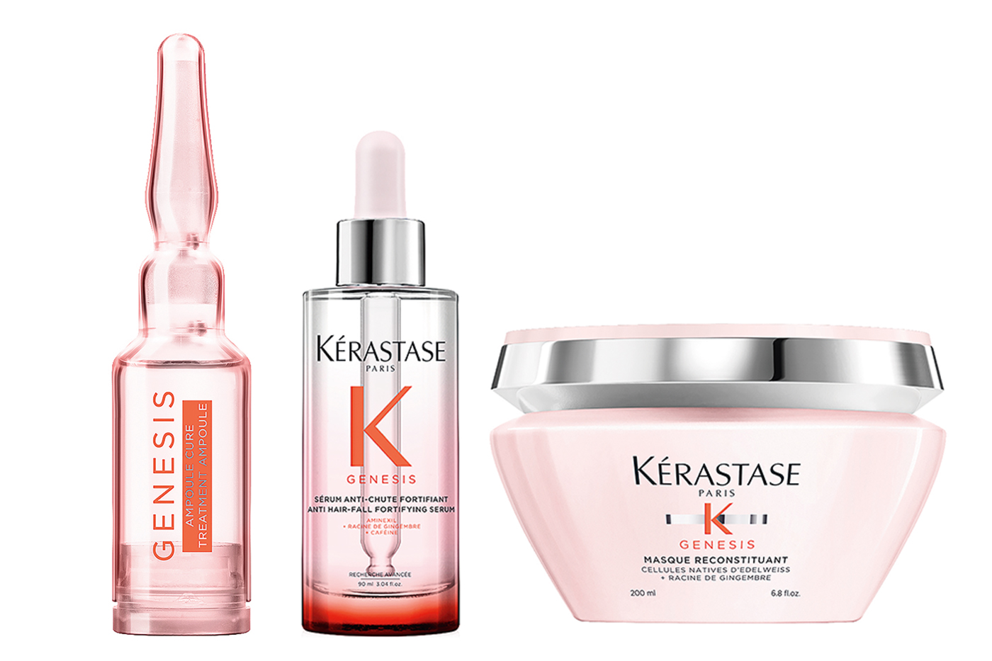 Kérastase unveils Genesis range for hair fall