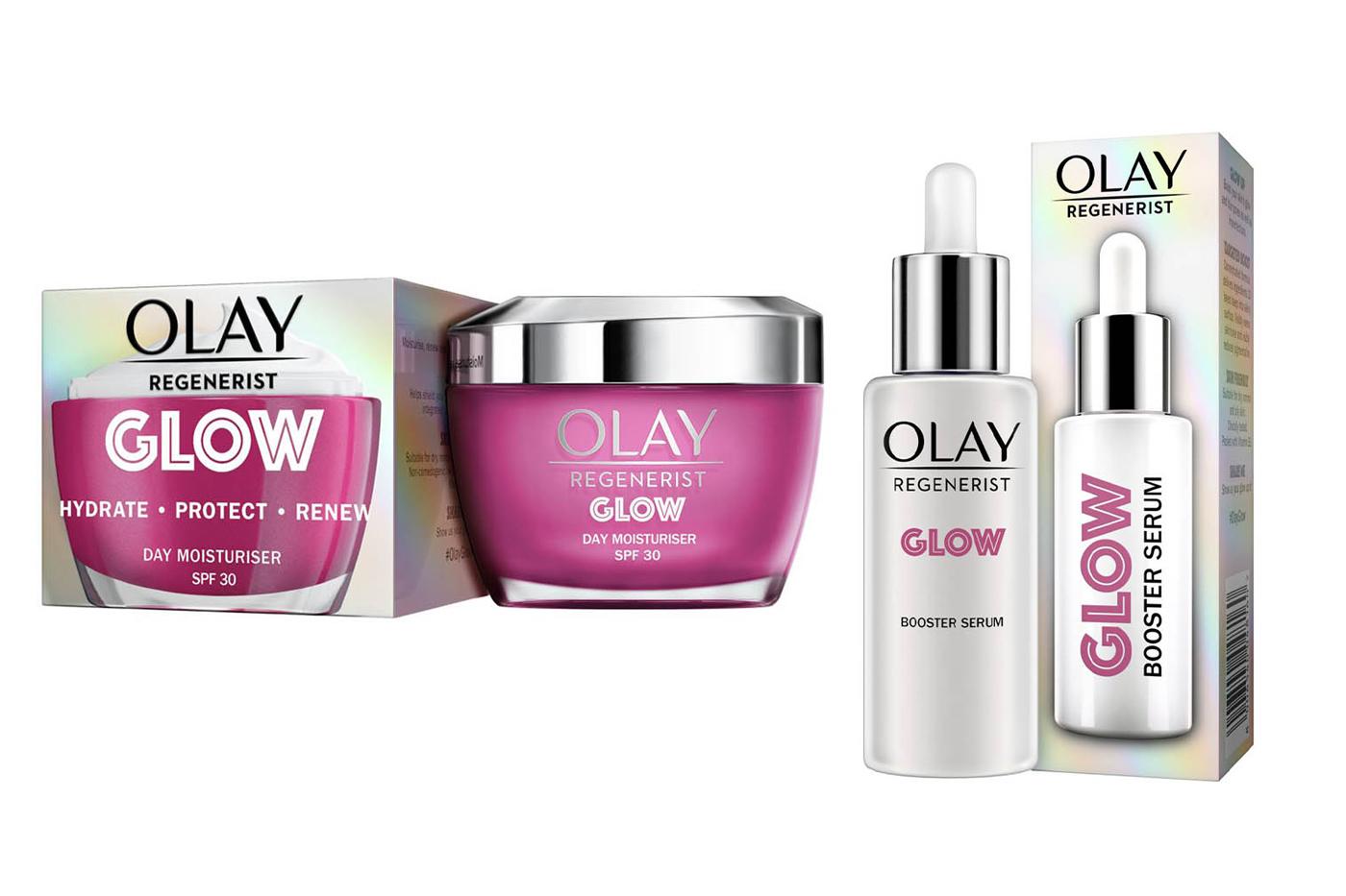 Olay launches Regenerist GLOW range