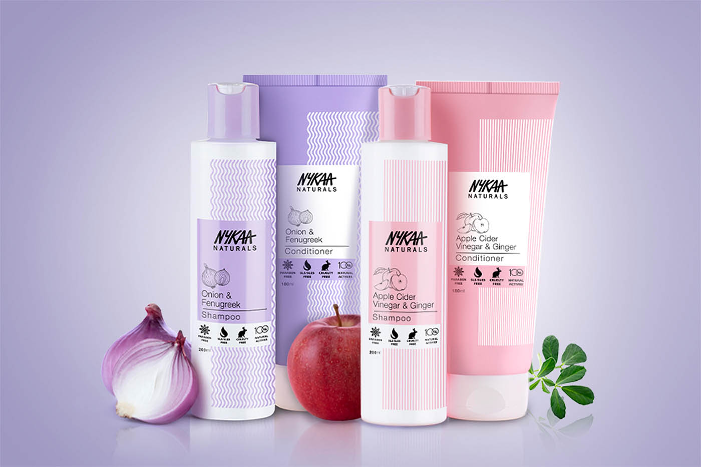Nykaa introduces natural hair care