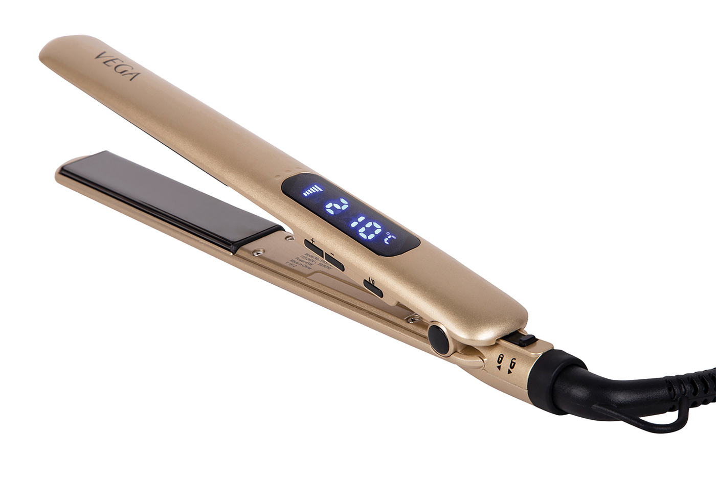 Vega's hair straightener for professionals