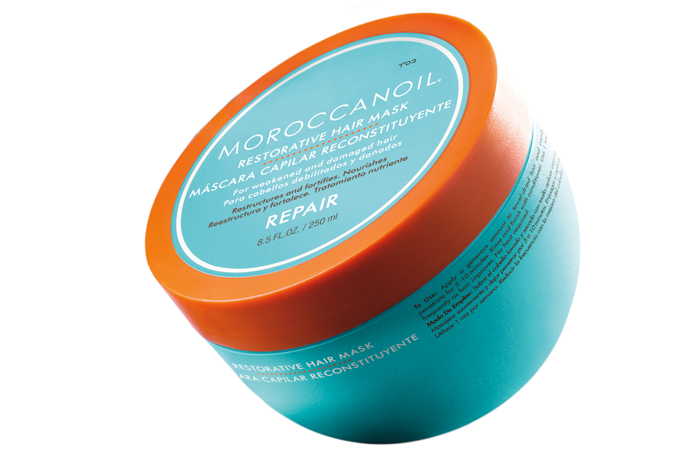 Moroccanoil's hair mask for repairing damaged hair