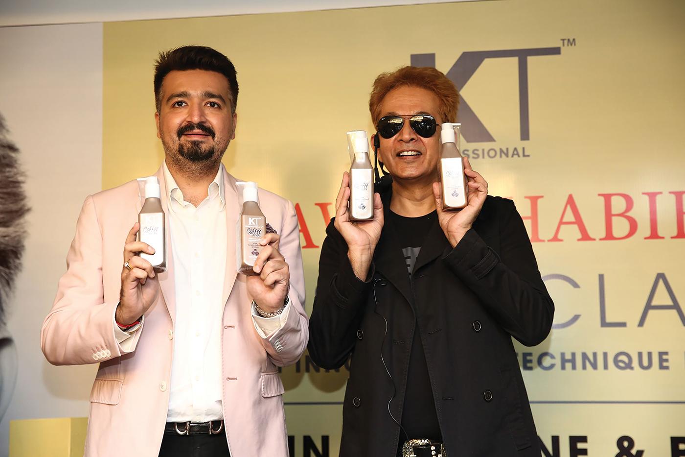Jawed Habib signed as KT Professional's Brand Ambassador