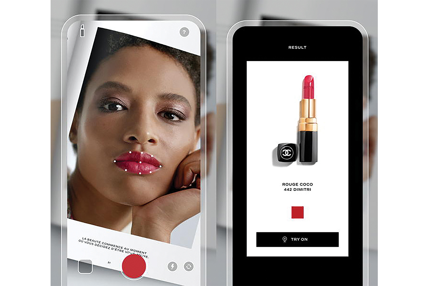 Chanel Launches LipScanner Application