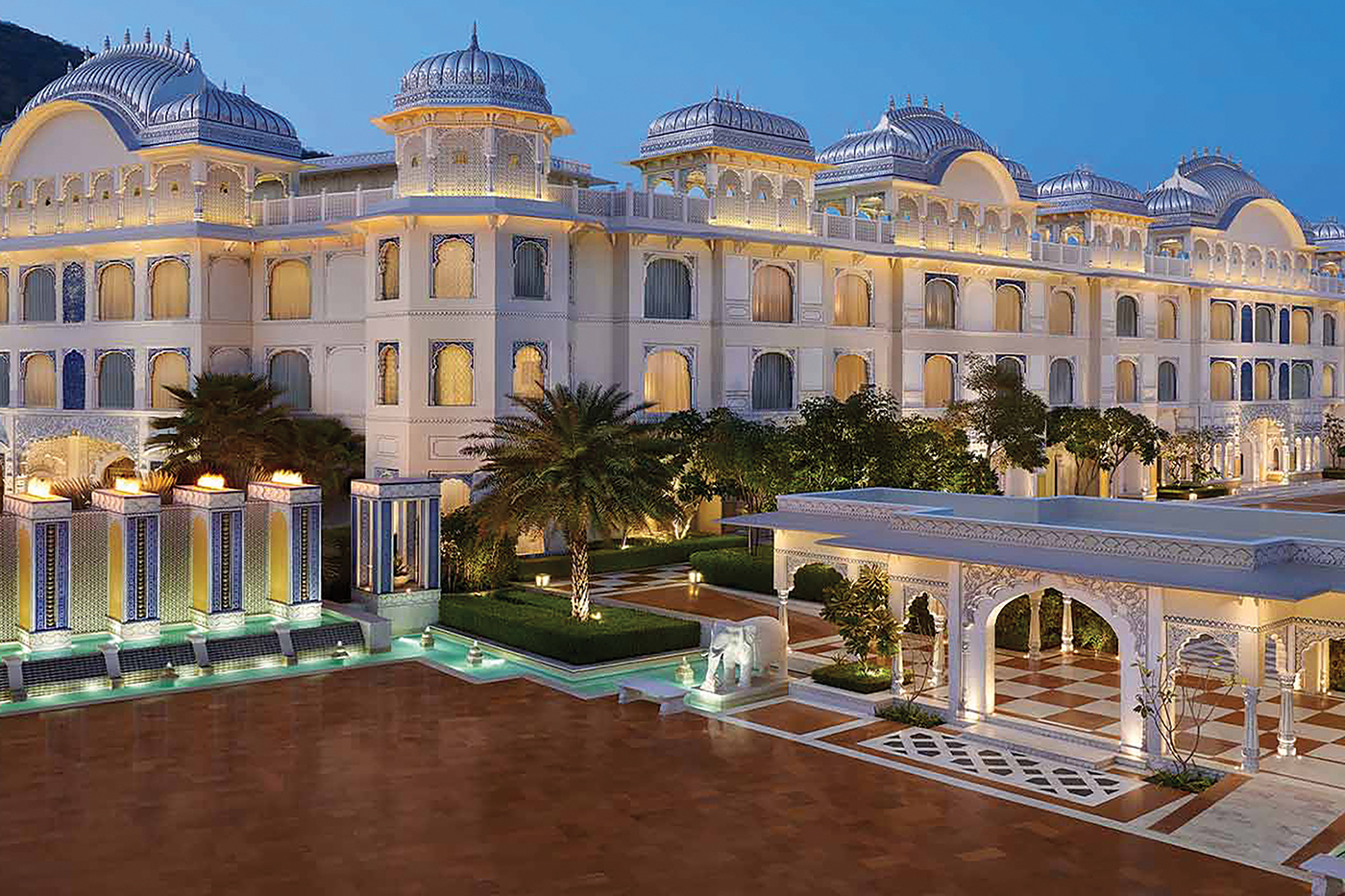 Leela Palace Jaipur opens with a royal vibe
