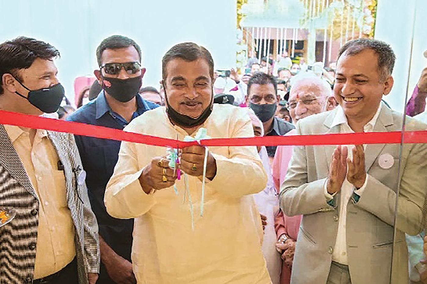 Nitin Gadkari Launches Wellness Store – Aarogyam
