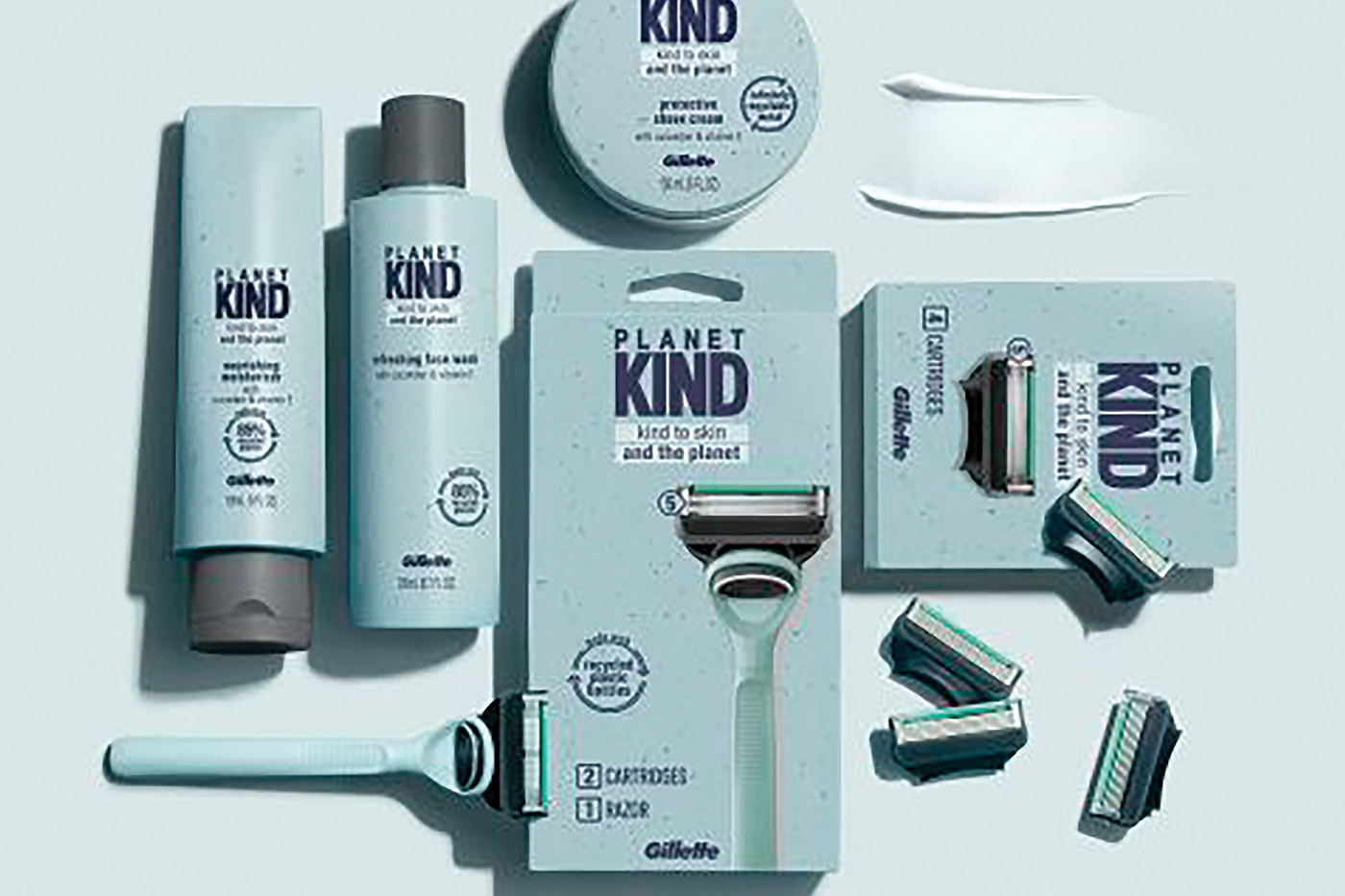 Gillette goes sustainable launches skin-friendly shaving and skincare product line