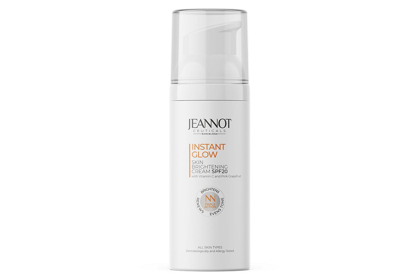 Jeannot Ceuticals cream for adding radiance