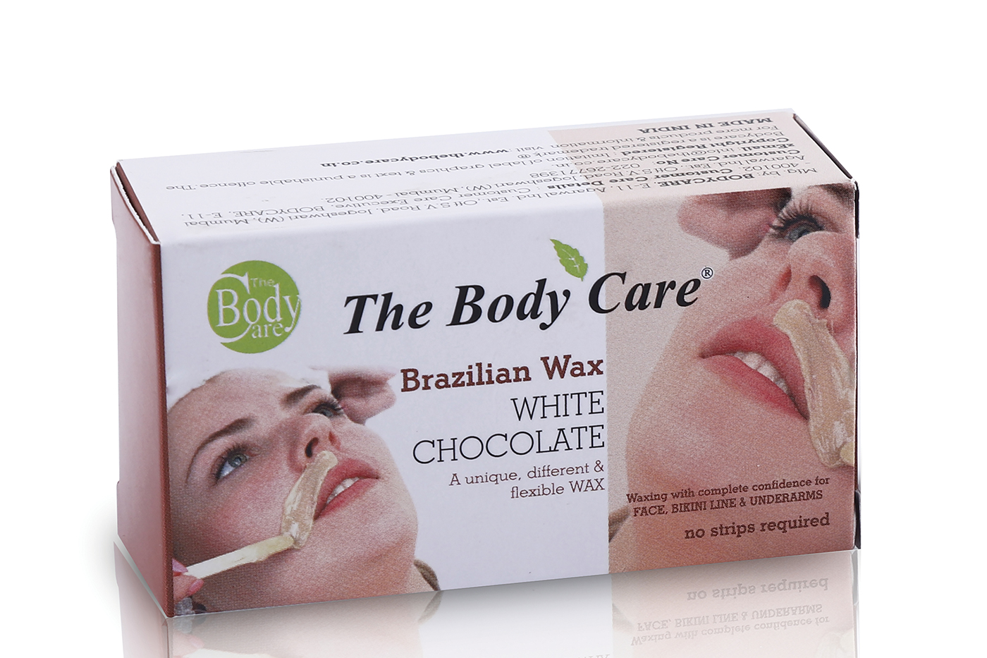 The Body Care's efficient hair removal wax