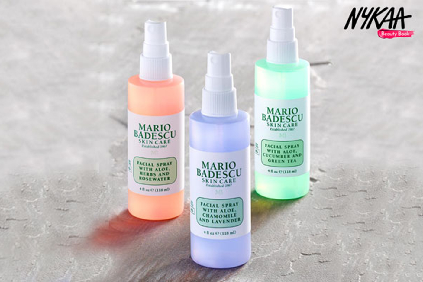 Nykaa unveils Mario Badescu skincare brand in India