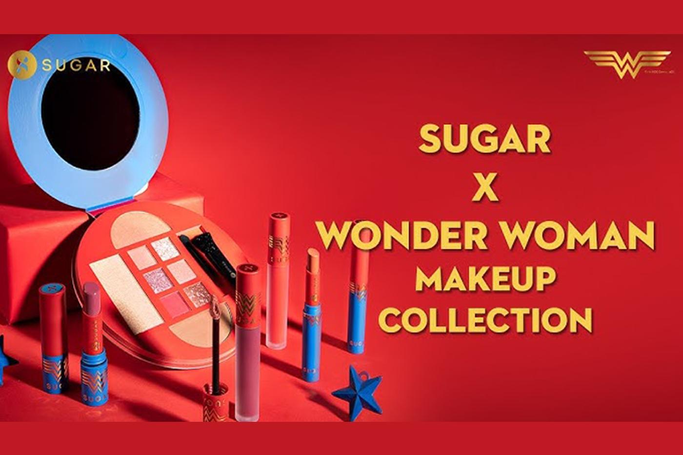 Sugar Cosmetics launches Sugar X Wonder Woman Collection