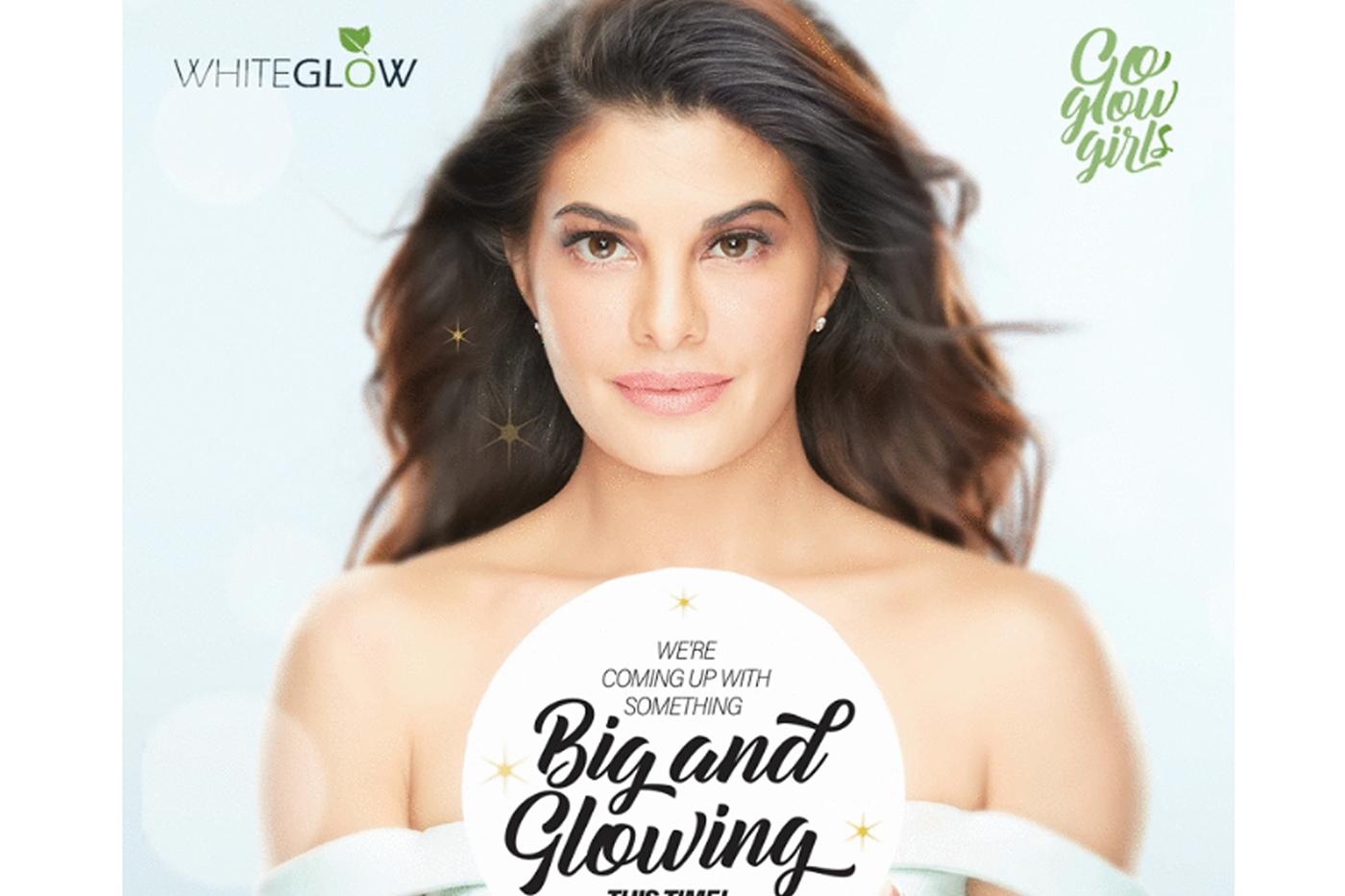 Jacqueline Fernandez leads the Lotus 'Go Glow Girls' campaign