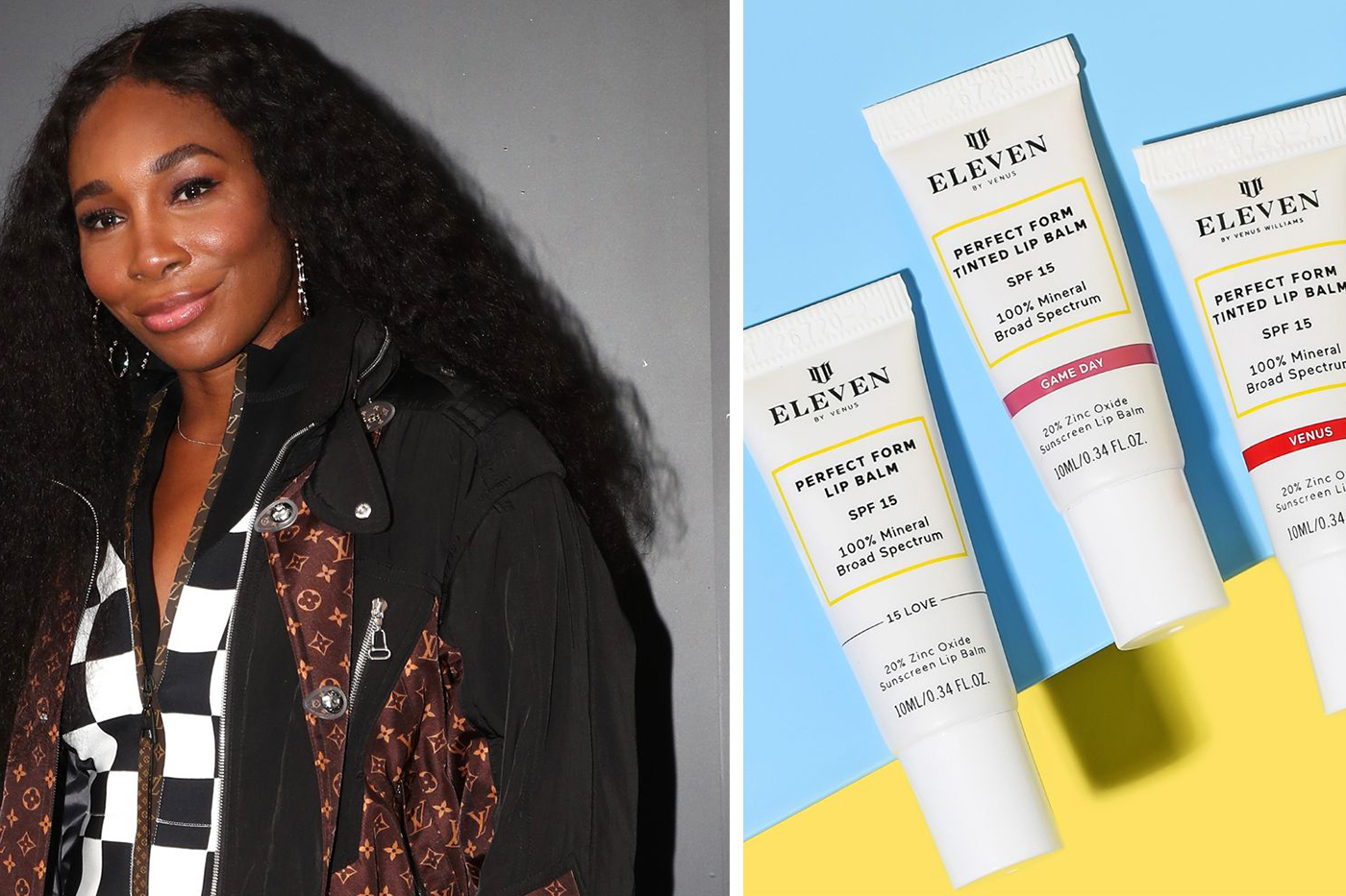 Venus Williams launches vegan lip balms under brand EleVen