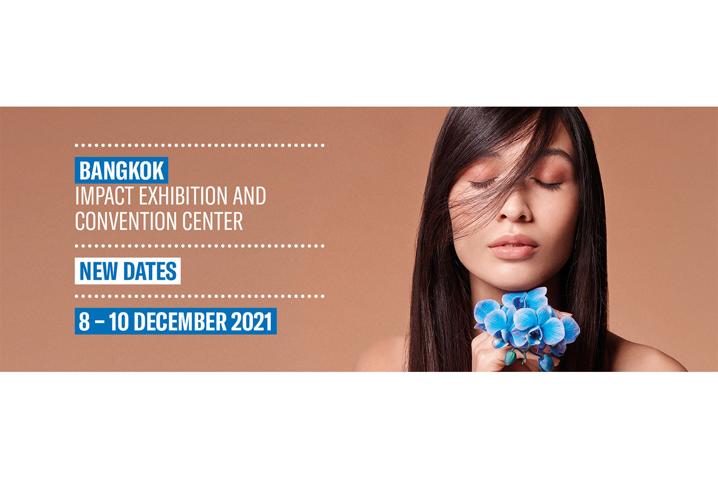 Cosmoprof CBE ASEAN rescheduled to December 8-10, 2021