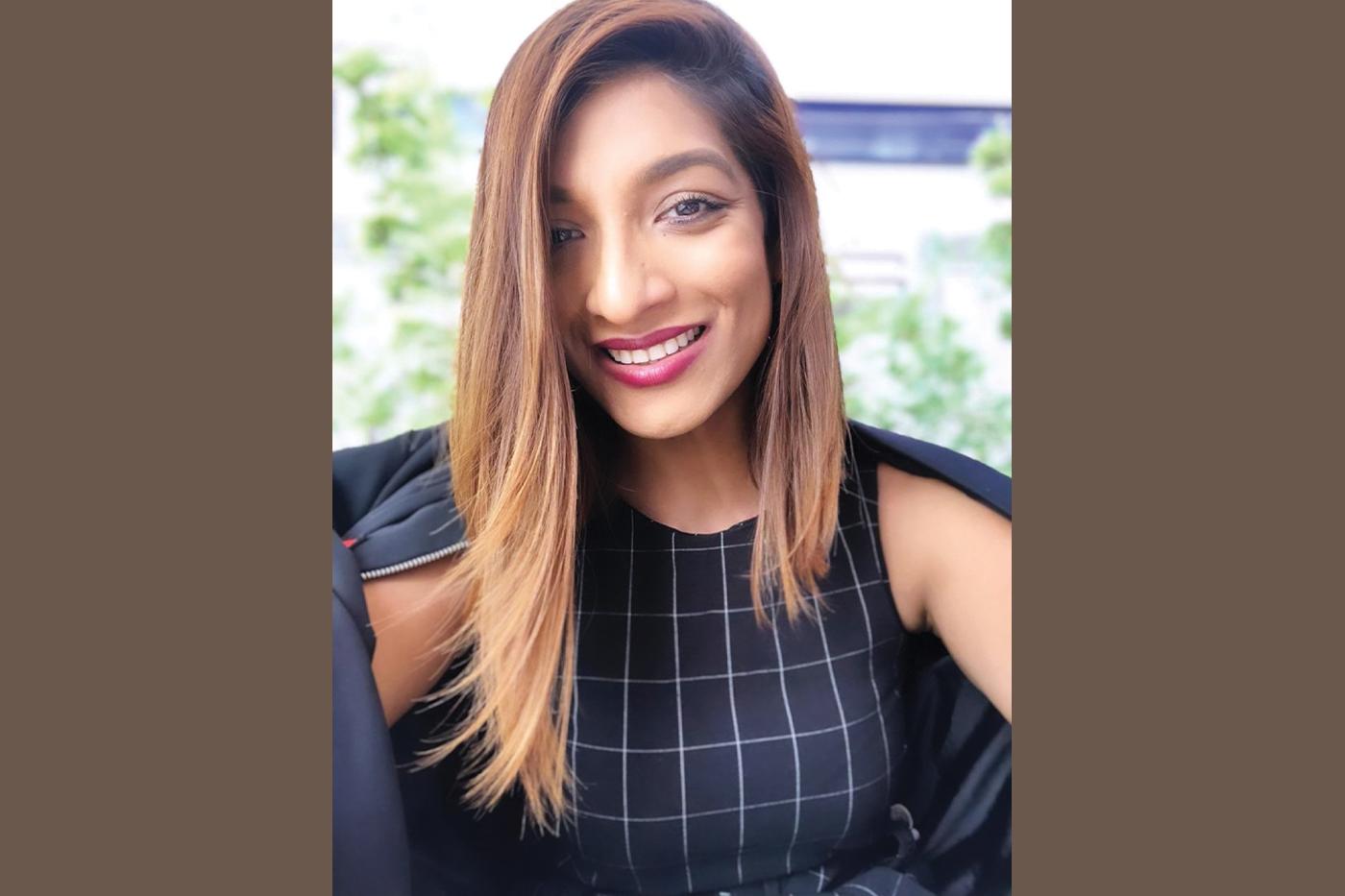 TIGI's Mane Master Audrey D'Souza