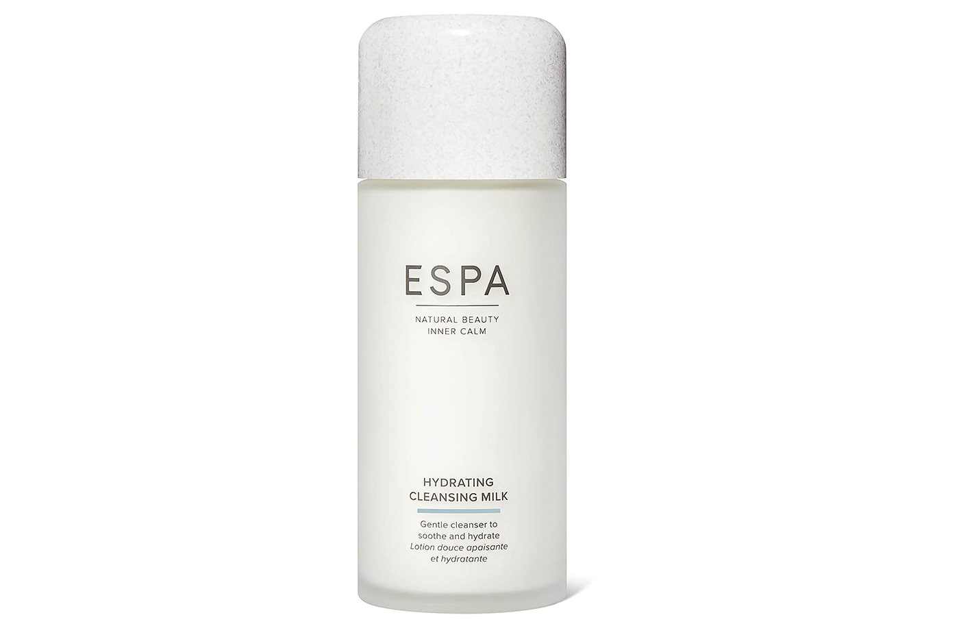 Cleanse the skin with ESPA